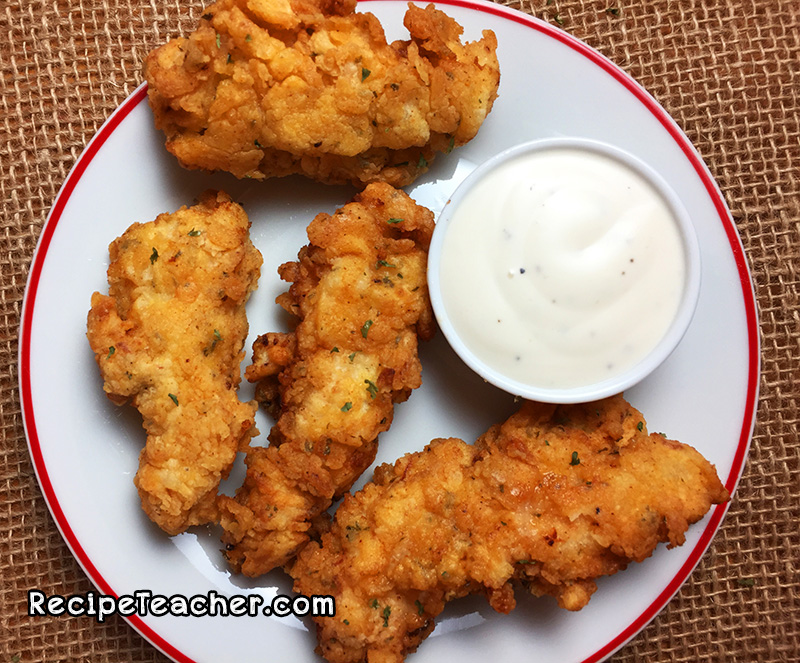 Best Damn Buttermilk Chicken Tenders