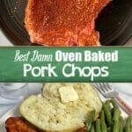 Easy recipe for oven baked pork chops