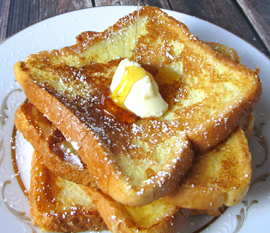 How To Make French Toast With Eggs And Bread