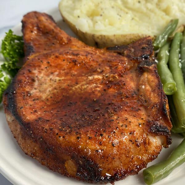 Recipe for oven baked pork chops