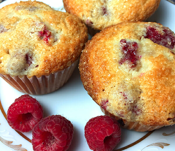 recipe for raspberry muffins