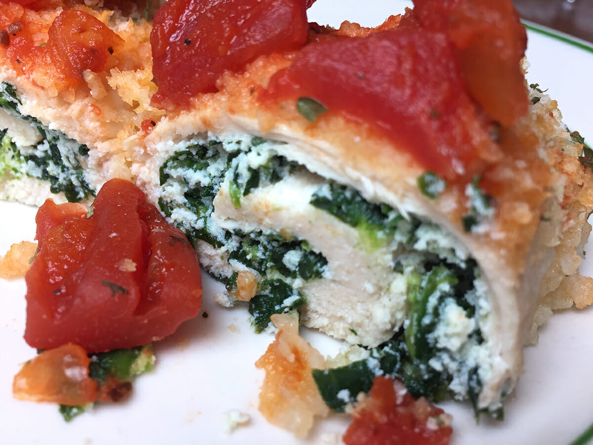 Stuffed Chicken Breast With Spinach And Ricotta Recipeteacher