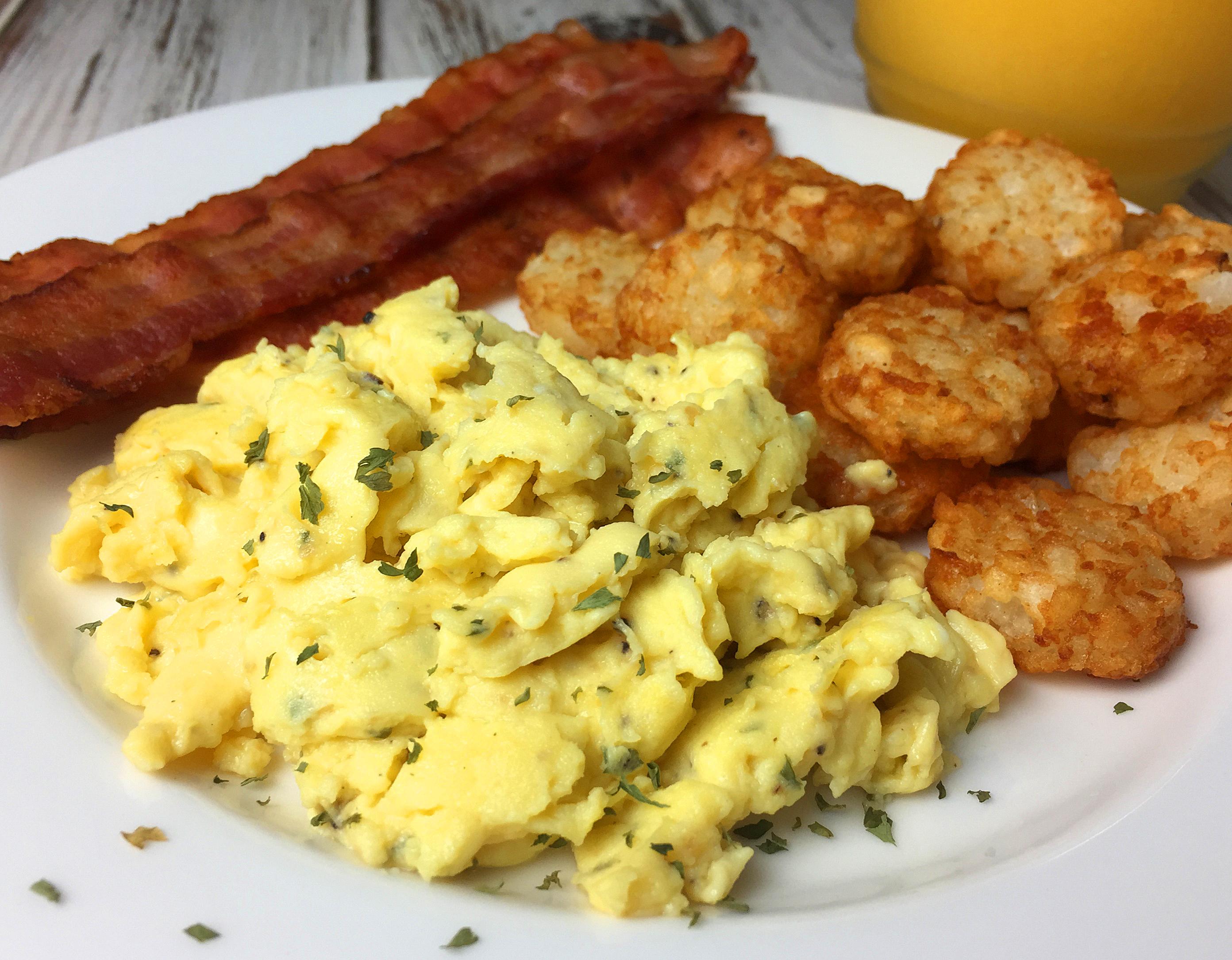 Best Damn Scrambled Eggs Recipe