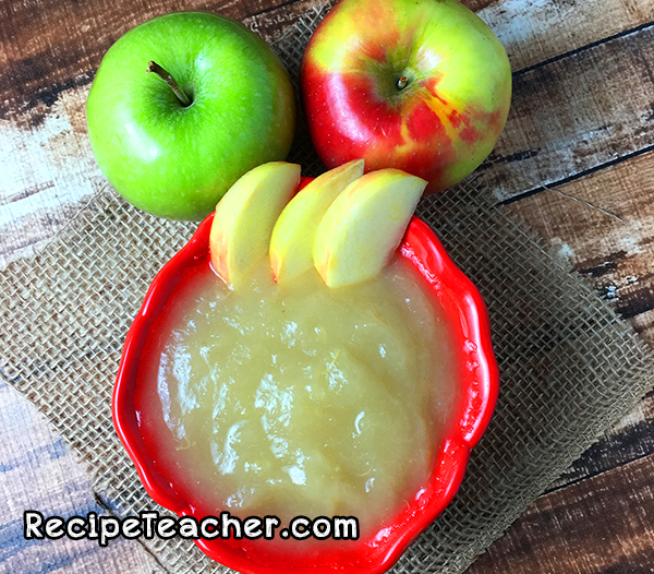 recipe for Instant Pot Applesauce