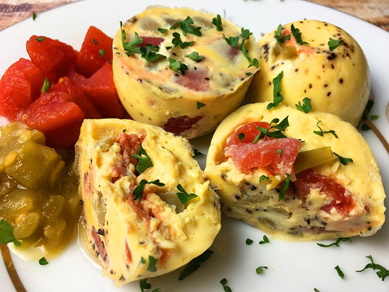 instant pot southwest scrambled egg bites recipe