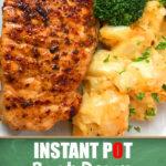Recipe for the Best Damn Instant Pot pork chops