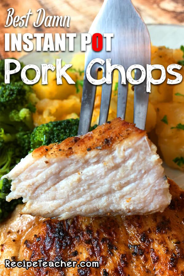 Recipe for Instant Pot Pork Chops