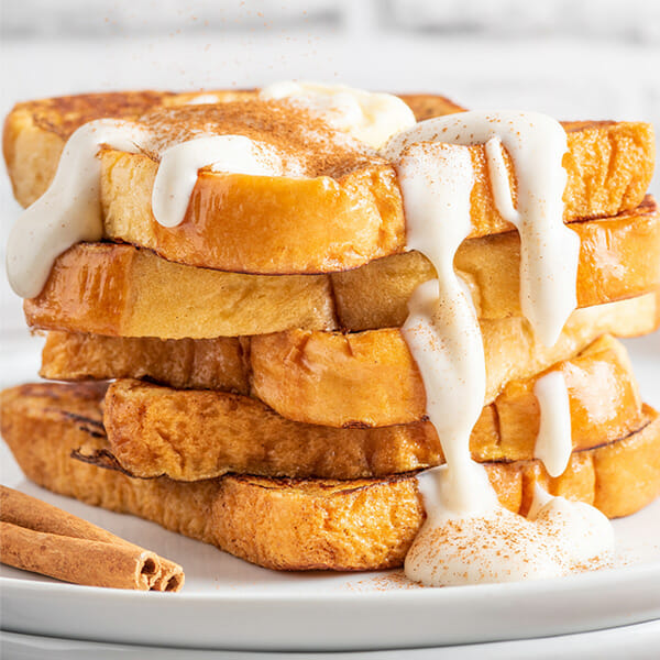 Recipe for cinnamon roll French Toast