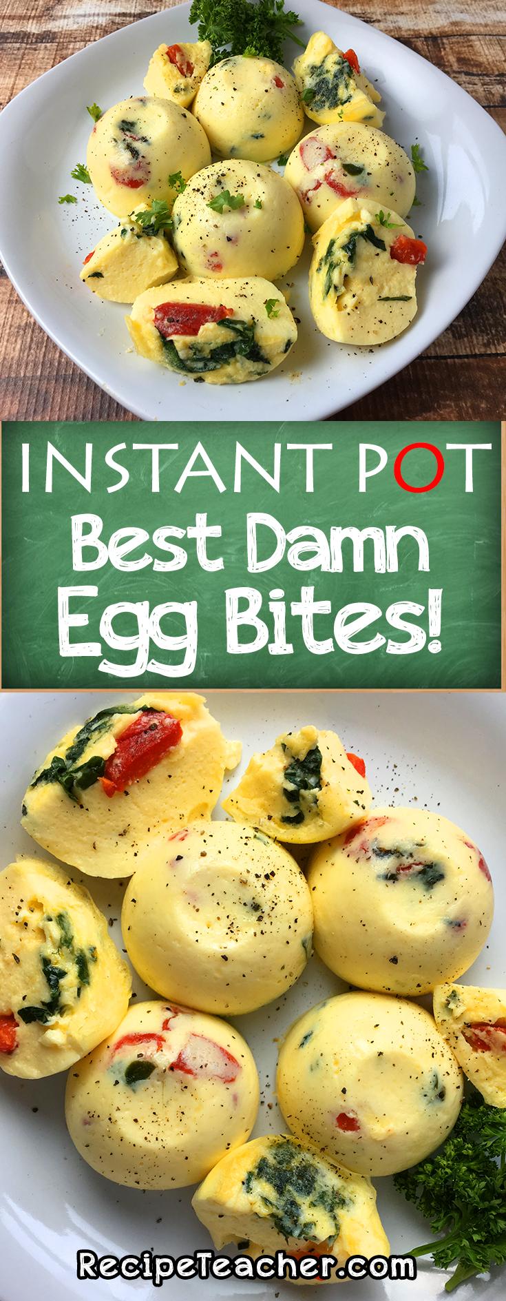 instant pot best damn egg bites recipe