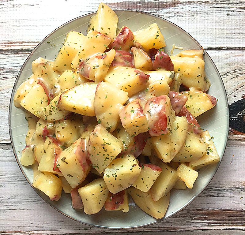 instant pot parmesan ranch roasted potatoes