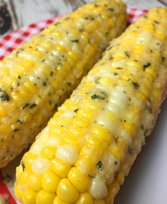 Instant Pot Parmesan Ranch Corn on the Cob