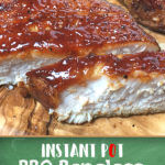 Recipe for Instant Pot barbecue pork chops