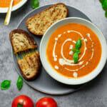 Instant Pot creamy tomato soup recipe
