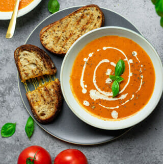 Instant Pot creamy tomato soup recipe