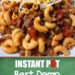 Recipe for Instant Pot Chili Mac