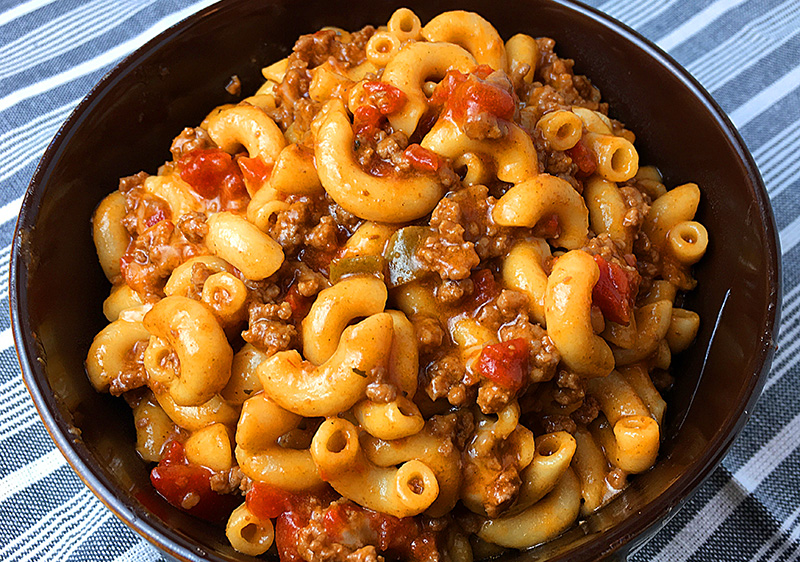 Instant Pot chili mac recipe