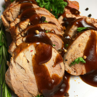Instant Pot pressure cooker pork tenderloin recipe