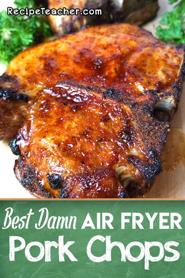 air fryer pork chops