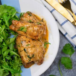 instant pot cilantro chicken thighs recipe
