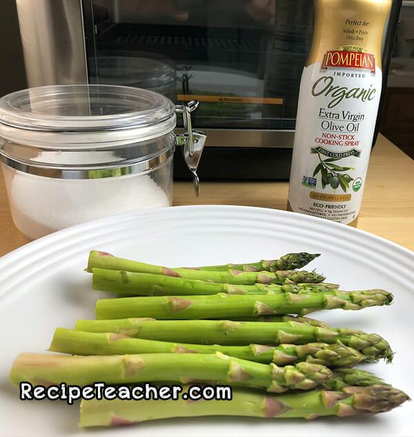instant vortex plus air fryer asparagus