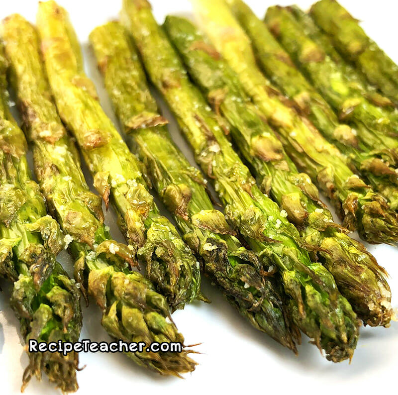 air fryer vortex plus asparagus