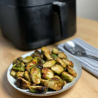 Recipe for air fryer Brussels sprouts