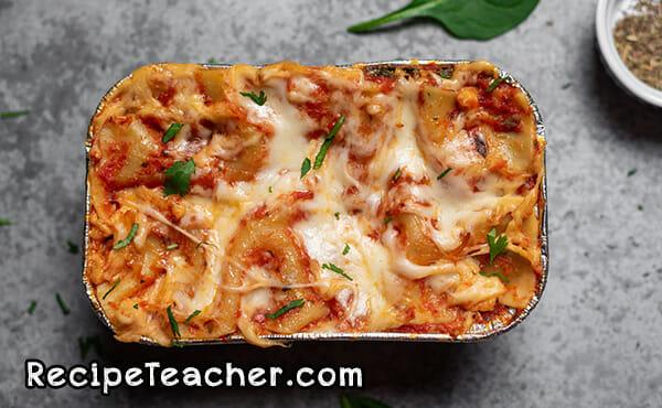 Recipe for Instant Pot lasagna