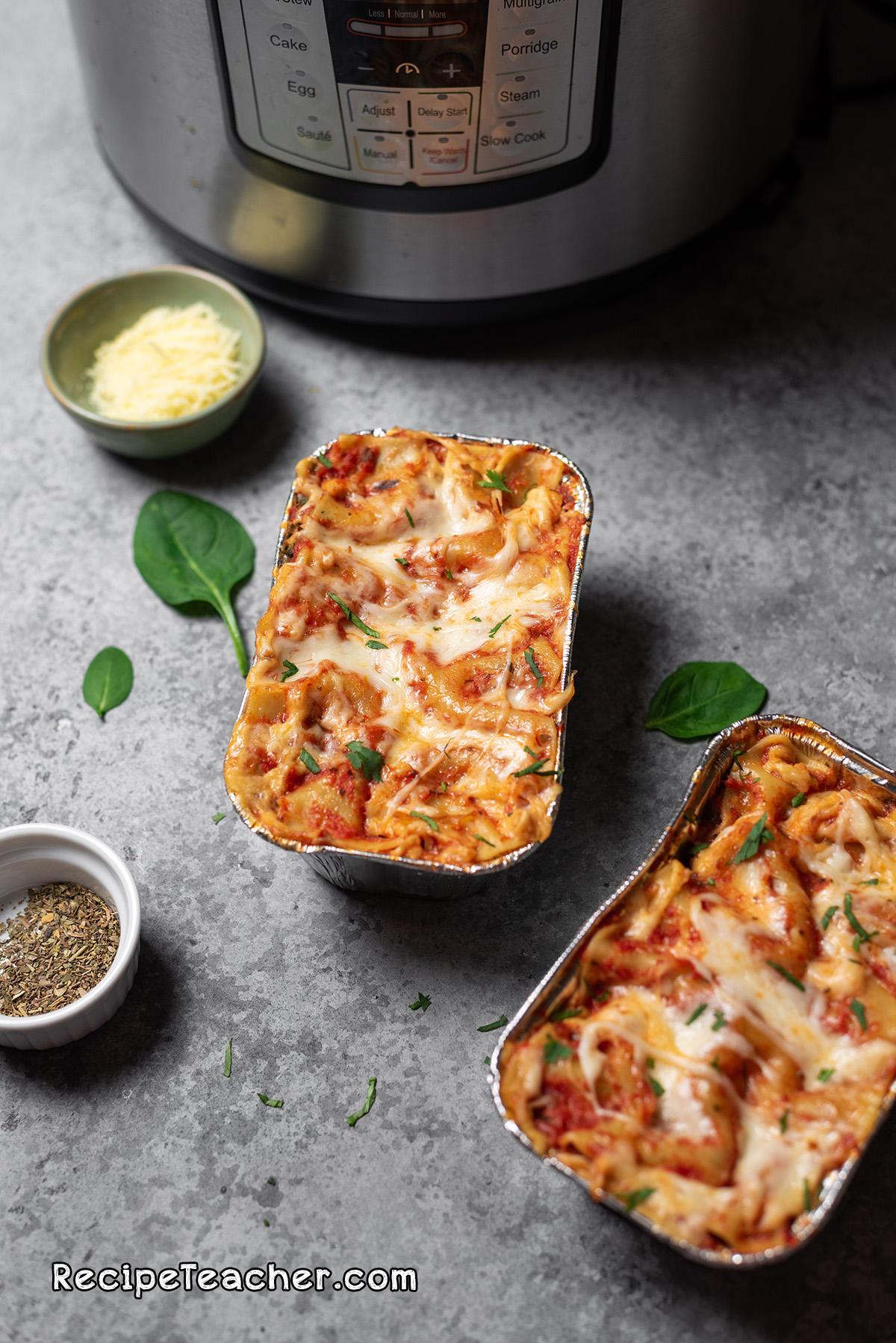 Recipe for the Best Damn Instant Pot Lasagna