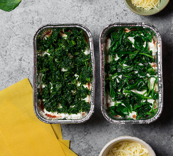 Recipe for Instant Pot spinach lasagna