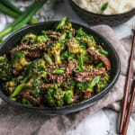 Recipe for Instant Pot beef and broccoli