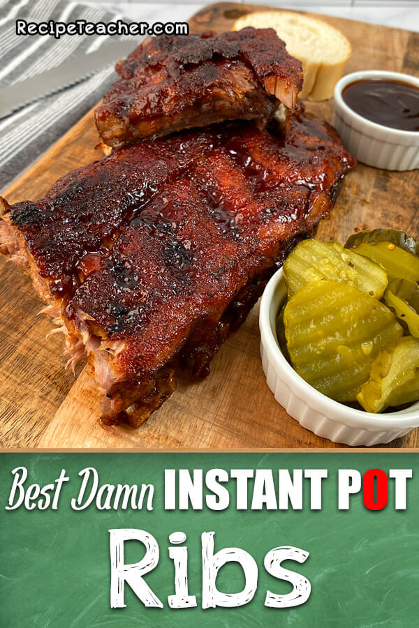 Recipe for Instant Pot ribs