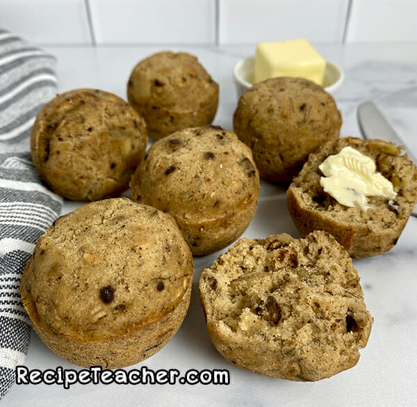 Recipe for Instant Pot gluten-free banana bread bites