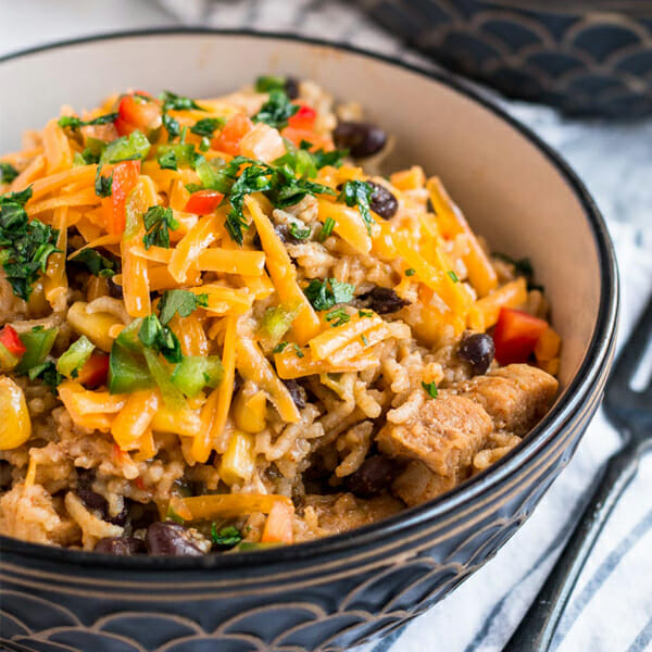 Recipe for Instant Pot Mexican Chicken and Rice