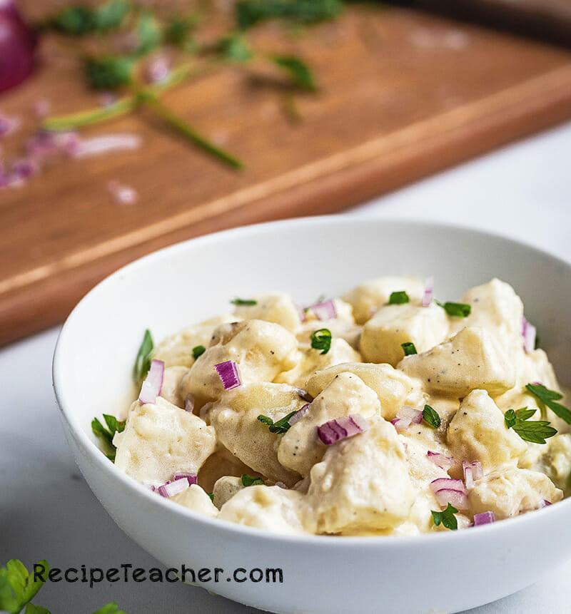 A recipe for Instant Pot potato salad