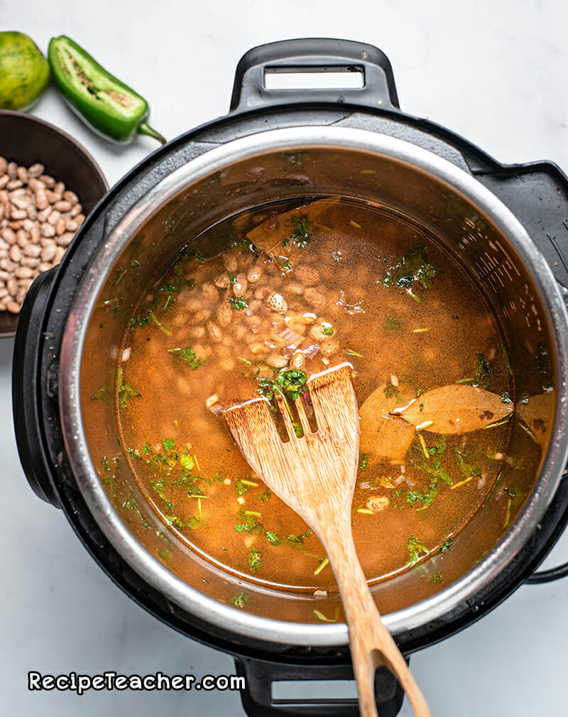 Recipe for Instant Pot refried beans