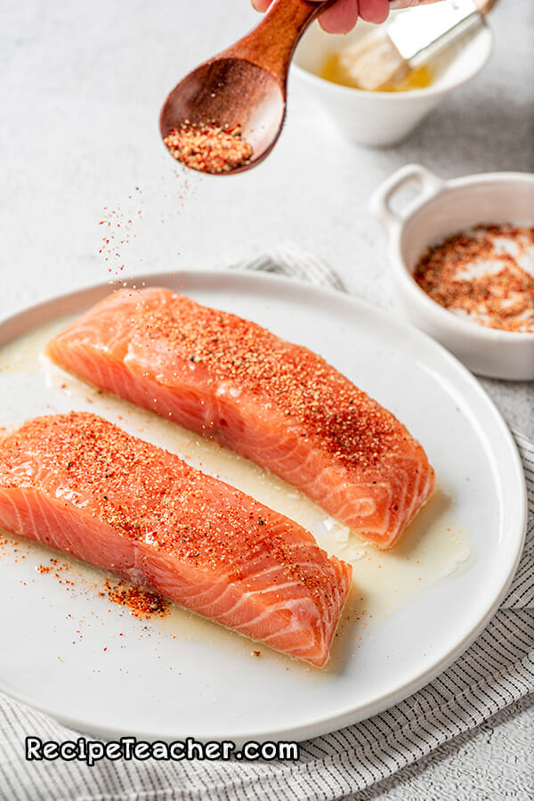 Recipe for air fryer salmon