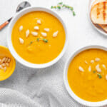 Recipe for Instant Pot Butternut Squash and Sweet Potato Soup