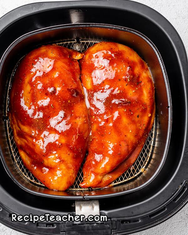 Recipe for air fruer chipotle chicken breast