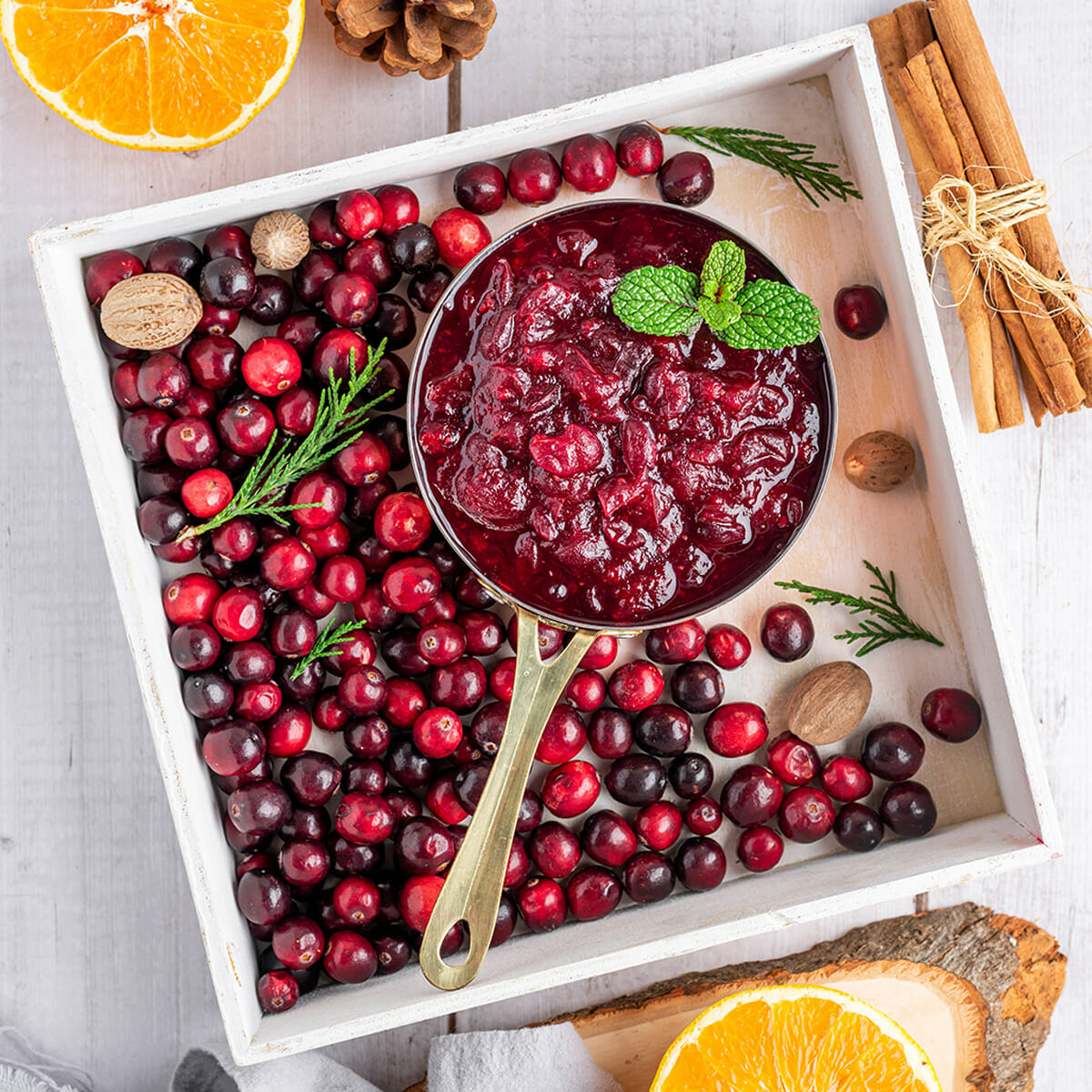 Recipe for Instant Pot Cranberry Sauce