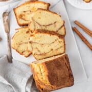 Recipe for cinnamon swirl loaf