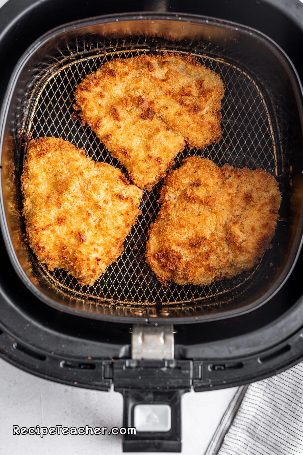 Recipe for air fryer buttermilk chicken sandwich
