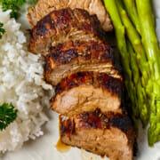 Recipe for air fryer marinated pork tenderloin