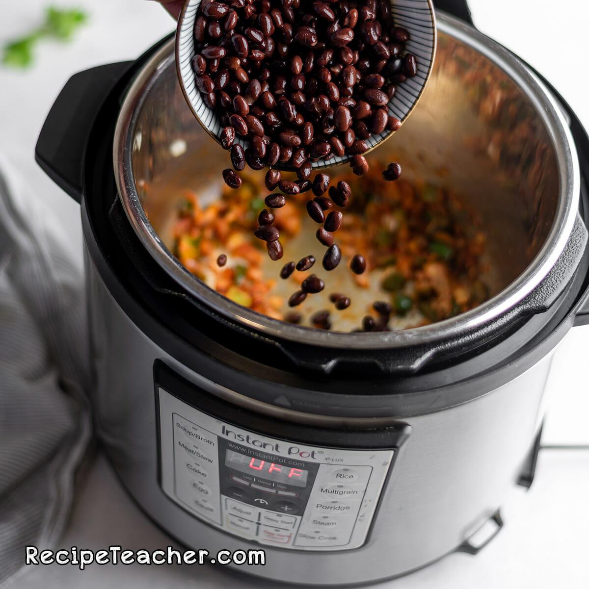 Recipe for Instant Pot vegetarian chili