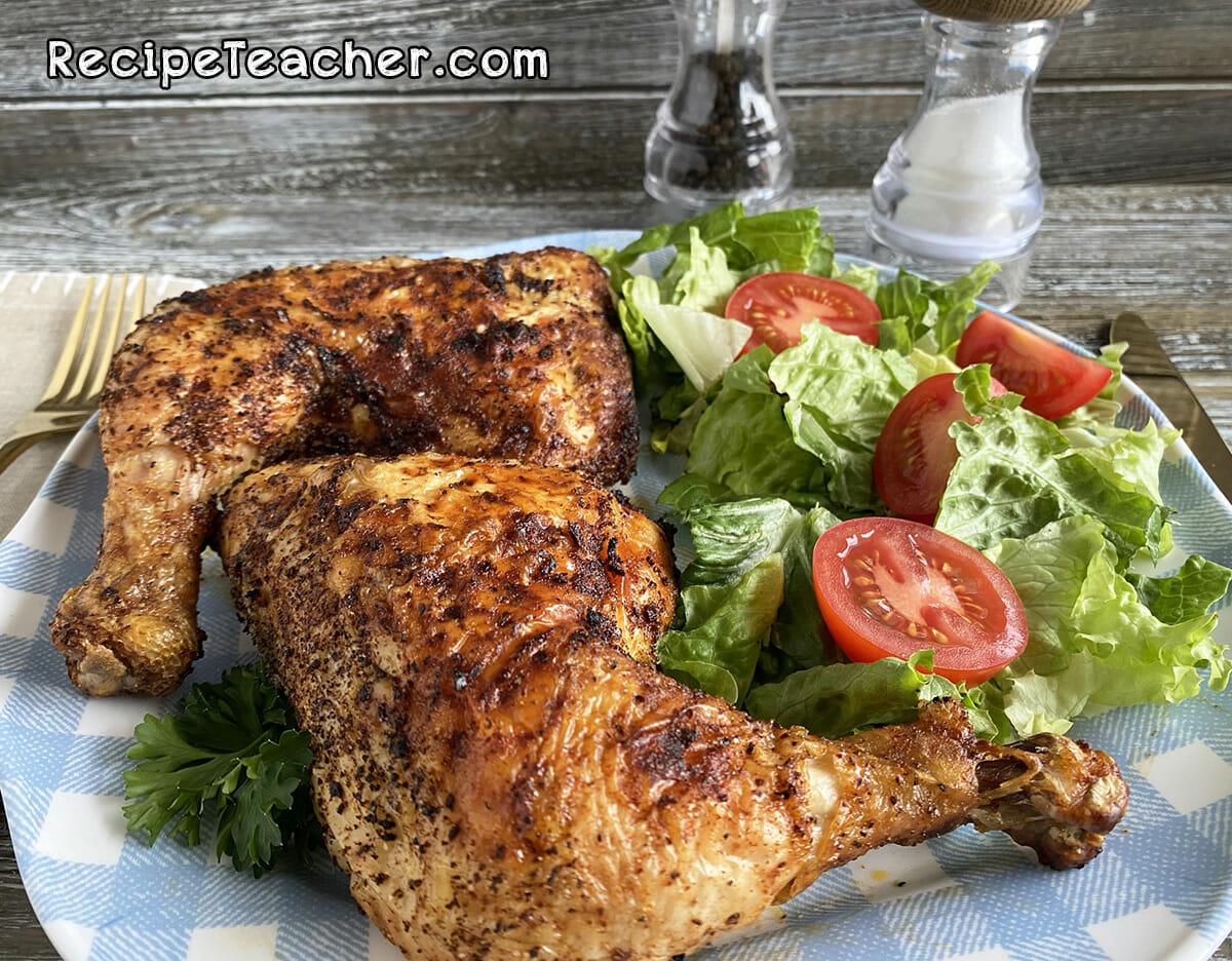Recipe for air fryer chicken leg quarters