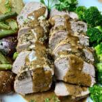 Recipe for Instant Pot gralic and herb pork tenderloin