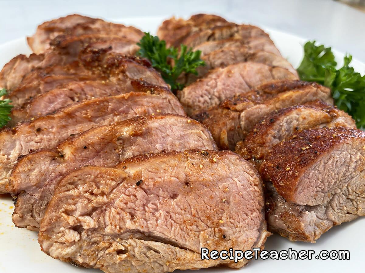 Oven roasted pork tenderloin recipe