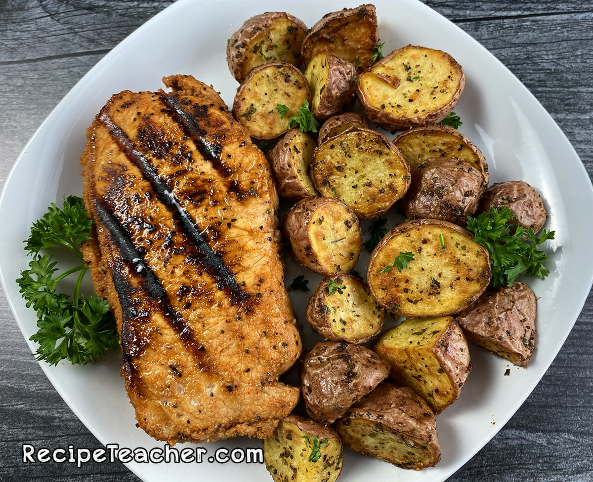 Recipe for Foreman Grill pork chops