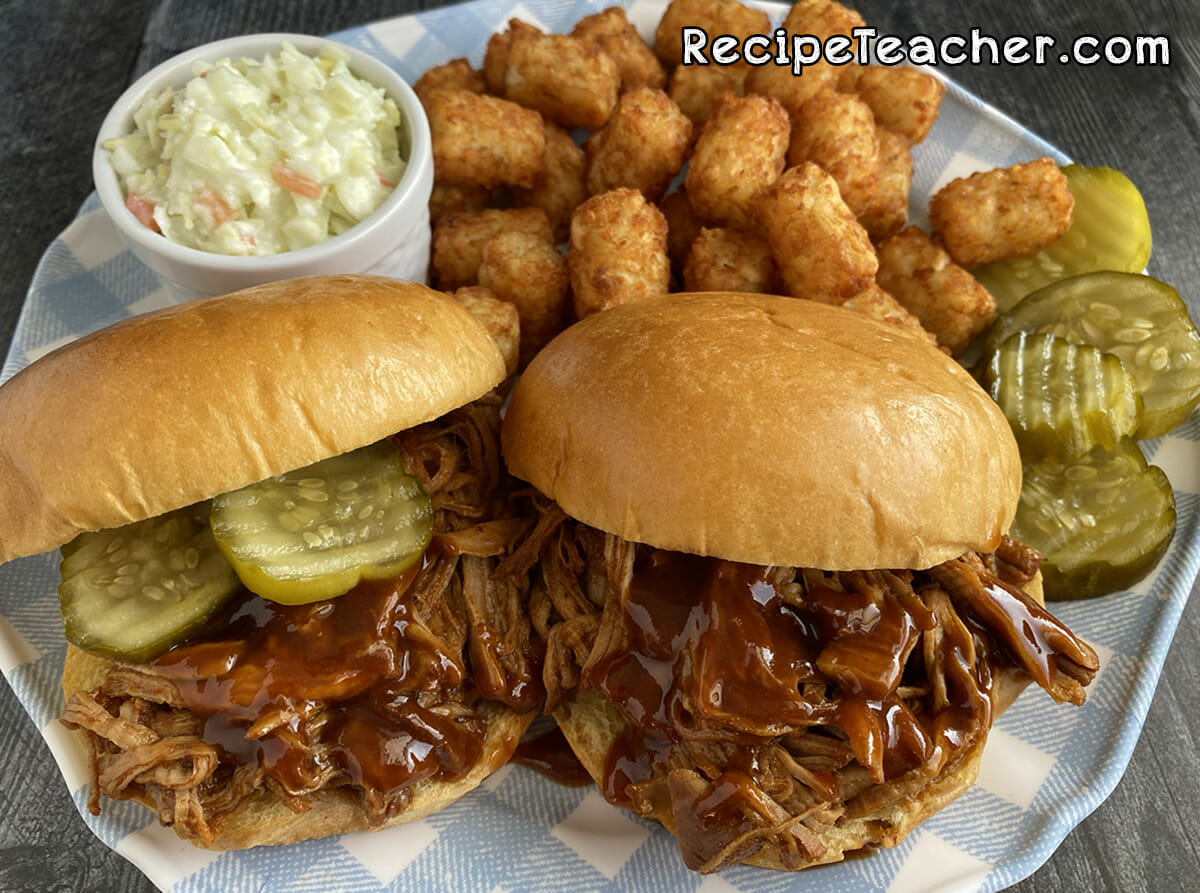 Drool Worthy Instant Pot Pulled Pork Sandwiches