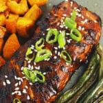 Air fryer Asian Salmon filets recipe