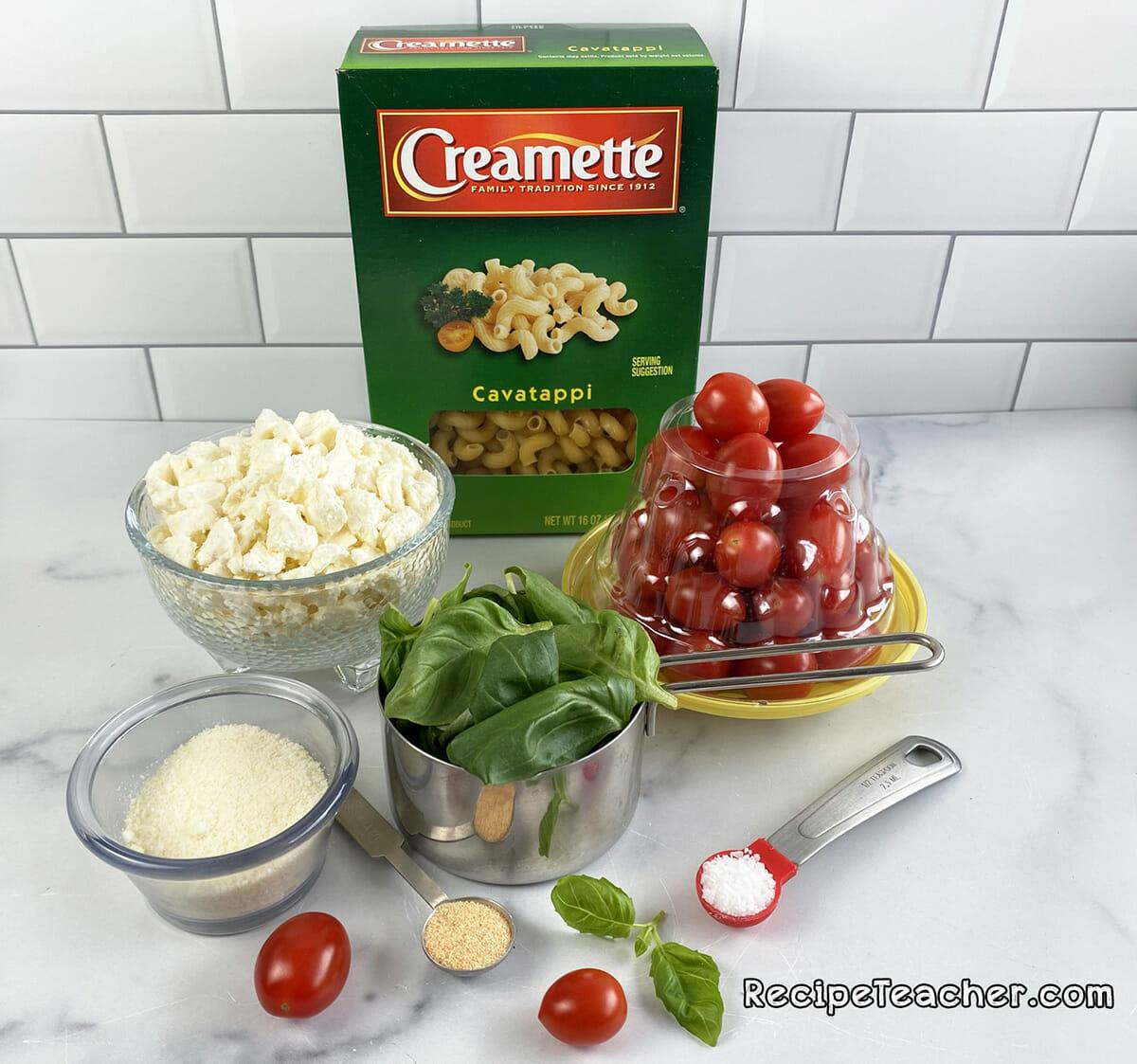 Recipe for Instant Pot feta cheese pasta